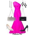 Pink alkalmi ruha